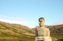 άγαλμα ατόμων παράξενο Στοκ Φωτογραφία