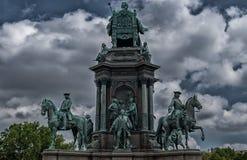 Άγαλμα βασίλισσας της Βιέννης Στοκ εικόνα με δικαίωμα ελεύθερης χρήσης