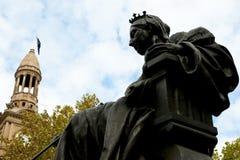 άγαλμα Βικτώρια βασίλισσ&a στοκ φωτογραφία