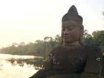 Άγαλμα Βούδας Ασία Στοκ εικόνα με δικαίωμα ελεύθερης χρήσης