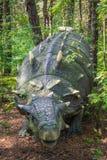 Άγαλμα δεινοσαύρων Ankylosaurus Στοκ φωτογραφία με δικαίωμα ελεύθερης χρήσης
