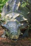 Άγαλμα δεινοσαύρων Ankylosaurus Στοκ Φωτογραφία