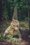 Άγαλμα δεινοσαύρων Spinosaurus Στοκ εικόνες με δικαίωμα ελεύθερης χρήσης