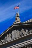 άγαλμα δικαστηρίων Στοκ Εικόνα