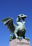 Άγαλμα δράκων Στοκ φωτογραφίες με δικαίωμα ελεύθερης χρήσης