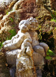 άγαλμα δύο παιδιών στοκ εικόνα