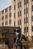 Άγαλμα Δ ` Artagnan - πανεπιστήμιο του Xavier - Κινκινάτι, Οχάιο Στοκ εικόνες με δικαίωμα ελεύθερης χρήσης