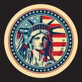 άγαλμα ελευθερίας απεικόνιση αποθεμάτων