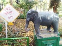 Άγαλμα ελεφάντων στοκ φωτογραφίες με δικαίωμα ελεύθερης χρήσης