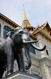 άγαλμα ελεφάντων Στοκ Εικόνες