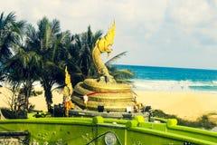 Άγαλμα ενός φιδιού θαλασσίως στοκ εικόνα με δικαίωμα ελεύθερης χρήσης