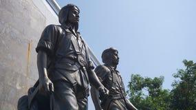 Άγαλμα ηρώων στοκ φωτογραφία με δικαίωμα ελεύθερης χρήσης