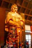 Άγαλμα Θεών Kung Che στο ναό ναών Che Kung andmark και ένα popu Στοκ Εικόνες