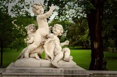 Άγαλμα κήπων της Βιέννης Στοκ Φωτογραφίες