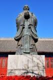άγαλμα Κομφουκίου Στοκ Φωτογραφία