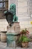Άγαλμα λιονταριών μπροστά από το Residenz 1 Στοκ φωτογραφίες με δικαίωμα ελεύθερης χρήσης