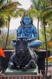 Άγαλμα Λόρδου Shiva Shankar, μουσείο γλυπτών, Kaneri Math, Kolhapur, Maharashtra στοκ φωτογραφία
