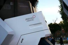 Άγαλμα μονοκέρων Gundam σε Odaiba Στοκ εικόνες με δικαίωμα ελεύθερης χρήσης