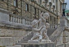 Άγαλμα μουσείων της Βιέννης Στοκ Φωτογραφία