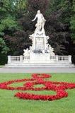 άγαλμα Μότσαρτ Στοκ Εικόνες