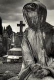 άγαλμα νεκροταφείων Στοκ Εικόνες