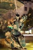 άγαλμα νύχτας της Λισσαβώ&nu Στοκ Εικόνες