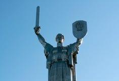 άγαλμα Ουκρανία μητέρων πα&t Στοκ φωτογραφίες με δικαίωμα ελεύθερης χρήσης