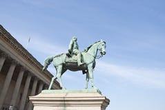 άγαλμα πριγκήπων Αλβέρτο&upsilon Στοκ Εικόνες