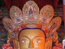 άγαλμα προσώπου του Βούδα στοκ φωτογραφία με δικαίωμα ελεύθερης χρήσης