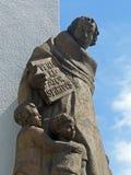Άγαλμα σε Domstrasse, Μάιντς Στοκ Φωτογραφία