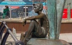 Άγαλμα στις αποβάθρες Gunwharf, Πόρτσμουθ, Αγγλία στοκ εικόνες με δικαίωμα ελεύθερης χρήσης