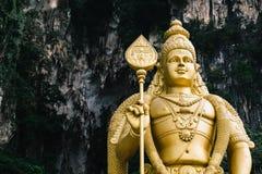 Άγαλμα στις σπηλιές Batu, Κουάλα Λουμπούρ Στοκ Φωτογραφίες