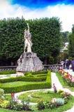 Άγαλμα στον κήπο Mirabell κοντά σε Mirabell Castle Σάλτζμπουργκ australites Στοκ Εικόνες