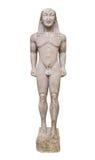 Άγαλμα στο μουσείο των Δελφών, Ελλάδα Στοκ εικόνα με δικαίωμα ελεύθερης χρήσης
