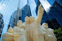 Άγαλμα στο Μόντρεαλ στον Καναδά Στοκ Εικόνες