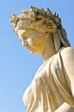 Άγαλμα στο παλάτι πόνου κτυπήματος στοκ φωτογραφία με δικαίωμα ελεύθερης χρήσης