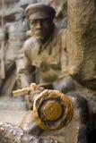 άγαλμα στρατιωτών Στοκ Φωτογραφία