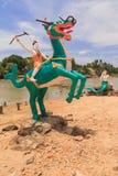 άγαλμα Ταϊλανδός μυθιστορημάτων Στοκ φωτογραφίες με δικαίωμα ελεύθερης χρήσης