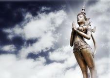 άγαλμα Ταϊλανδός apsonsi Στοκ φωτογραφίες με δικαίωμα ελεύθερης χρήσης