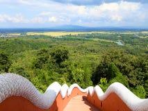 άγαλμα Ταϊλανδός naga βασιλιά στοκ εικόνες