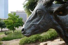 Άγαλμα ταύρων στοκ φωτογραφία με δικαίωμα ελεύθερης χρήσης