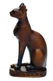 άγαλμα της Αιγύπτου γατών Στοκ φωτογραφίες με δικαίωμα ελεύθερης χρήσης
