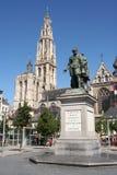 άγαλμα της Αμβέρσας rubens Στοκ Φωτογραφία