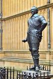 Άγαλμα της αρίθμησης Pembroke Οξφόρδη, Μεγάλη Βρετανία στοκ φωτογραφία με δικαίωμα ελεύθερης χρήσης