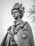 Άγαλμα της βασίλισσας στη Magna Carta σημαδιών σε Runnymede στοκ φωτογραφία με δικαίωμα ελεύθερης χρήσης