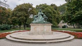 Άγαλμα της βασίλισσας Elisabeth στη Βουδαπέστη Στοκ φωτογραφία με δικαίωμα ελεύθερης χρήσης