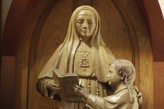 Άγαλμα της εικόνας Santa Paula Montalt Στοκ φωτογραφία με δικαίωμα ελεύθερης χρήσης
