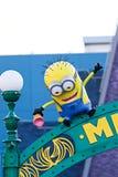 Άγαλμα της ΕΙΣΌΔΟΥ ` ΠΆΡΚΩΝ ` MINION, που βρίσκεται στα UNIVERSAL STUDIO ΙΑΠΩΝΊΑ Στοκ εικόνες με δικαίωμα ελεύθερης χρήσης