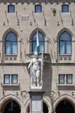 Άγαλμα της ελευθερίας Άγιος Μαρίνος Στοκ Φωτογραφία