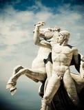 άγαλμα της ΕΥΡ Στοκ Φωτογραφία